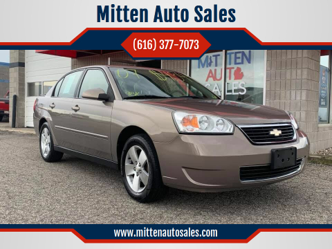 2007 Chevrolet Malibu for sale at Mitten Auto Sales in Holland MI