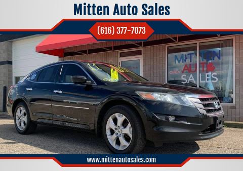 2010 Honda Accord Crosstour for sale at Mitten Auto Sales in Holland MI