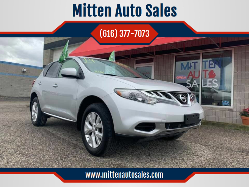 2014 Nissan Murano for sale at Mitten Auto Sales in Holland MI