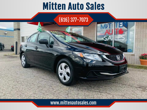 2014 Honda Civic for sale at Mitten Auto Sales in Holland MI