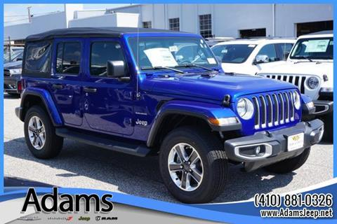 2018 Jeep Wrangler Unlimited for sale in Annapolis, MD