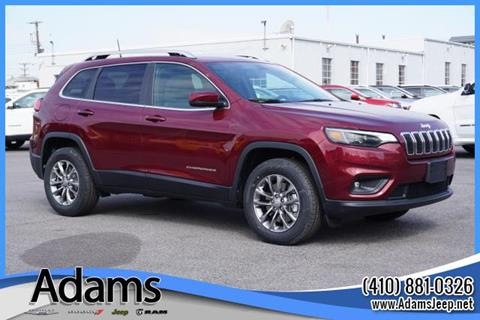2019 Jeep Cherokee for sale in Annapolis, MD