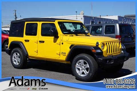 2019 Jeep Wrangler Unlimited for sale in Annapolis, MD