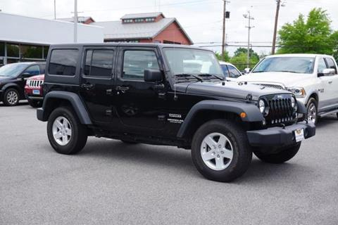 2017 Jeep Wrangler Unlimited for sale in Annapolis, MD