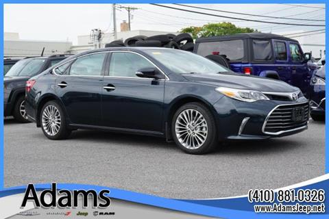 2016 Toyota Avalon for sale in Annapolis, MD