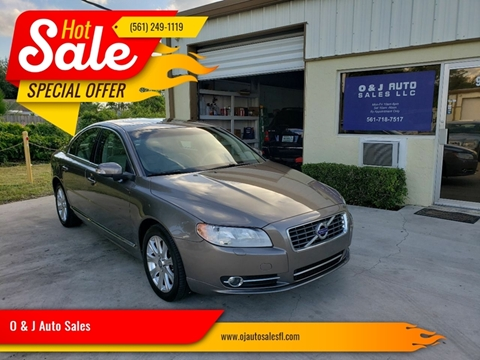 2010 Volvo S80 for sale in Royal Palm Beach, FL