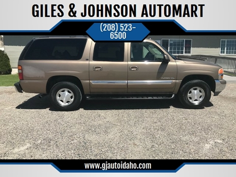 2003 GMC Yukon XL for sale in Idaho Falls, ID