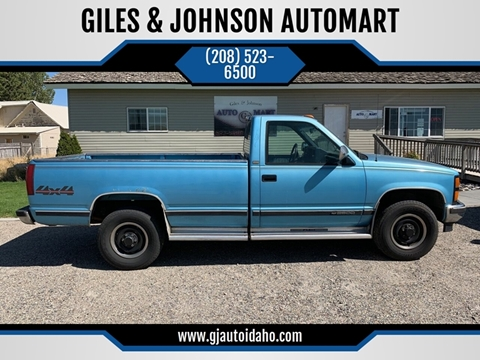 1993 Chevrolet C/K 2500 Series for sale in Idaho Falls, ID