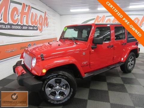 2018 Jeep Wrangler Unlimited for sale in Zanesville, OH