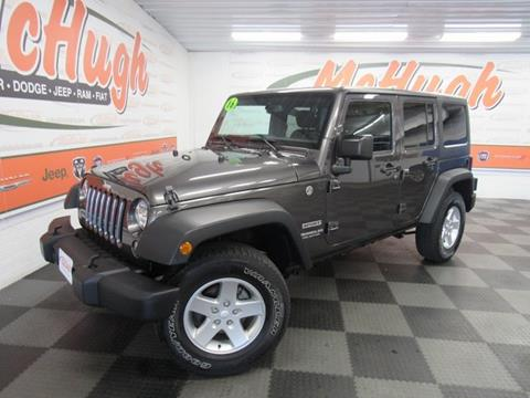 2016 Jeep Wrangler Unlimited for sale in Zanesville, OH