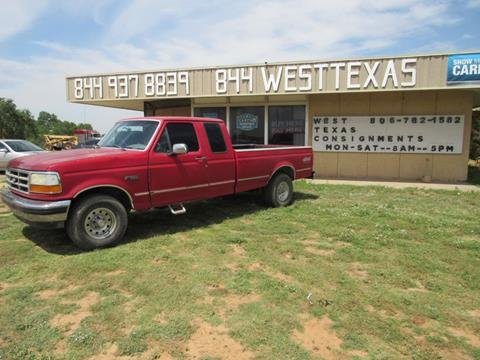 1994 Ford F-150 for sale in Lubbock, TX