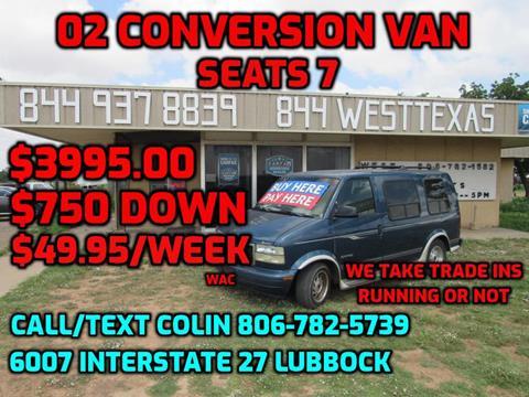2002 GMC Safari for sale in Lubbock, TX
