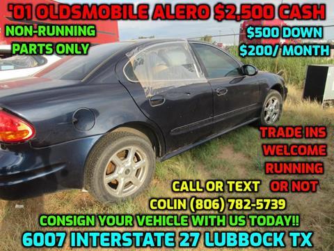 2001 Oldsmobile Alero for sale in Lubbock, TX
