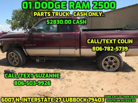2001 Dodge Ram Pickup 2500 for sale at West Texas Consignment in Lubbock TX