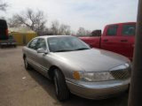 2002 Lincoln Continental for sale at West Texas Consignment in Lubbock TX