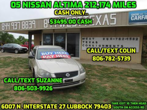 Car Dealerships In Lubbock Tx >> Nissan For Sale In Lubbock Tx West Texas Consignment