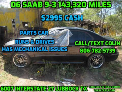 2006 Saab 9-3 for sale at West Texas Consignment in Lubbock TX
