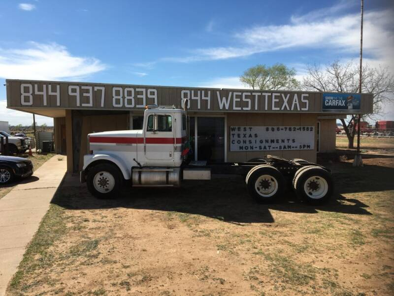 1985 International 9300 for sale at West Texas Consignment in Lubbock TX