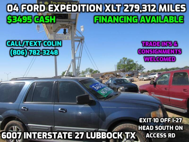 2004 Ford Expedition for sale at West Texas Consignment in Lubbock TX