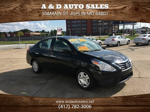 2016 Nissan Versa for sale in Joplin, MO