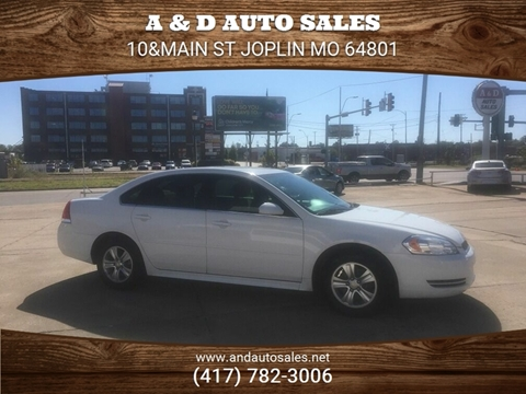 2012 Chevrolet Impala for sale in Joplin, MO