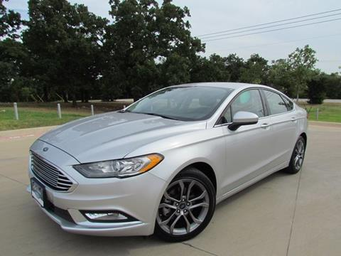 2017 Ford Fusion for sale in Denton, TX