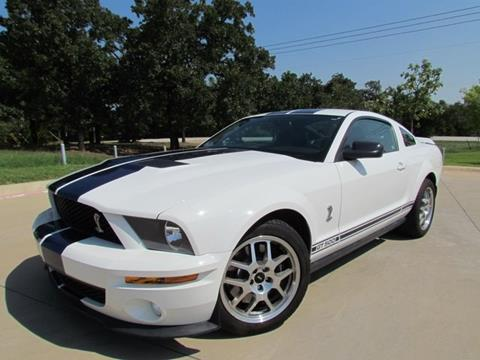 2007 Ford Shelby GT500 for sale in Denton, TX