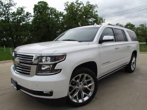 2018 Chevrolet Suburban Premier 1500 for sale at BILL UTTER FORD INC in Denton TX
