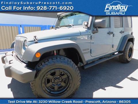 2015 Jeep Wrangler Unlimited for sale in Prescott, AZ