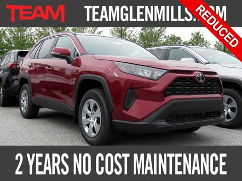 2019 Toyota RAV4 for sale in Glen Mills, PA