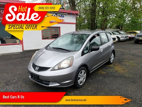 2010 Honda Fit for sale at Best Cars R Us in Plainfield NJ