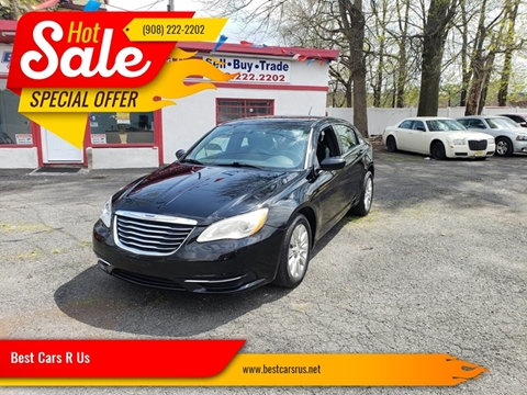 2014 Chrysler 200 for sale at Best Cars R Us in Plainfield NJ