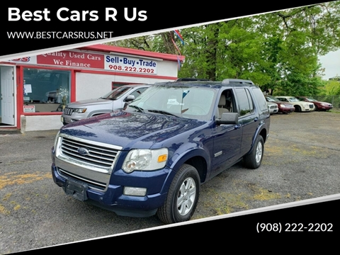 2008 Ford Explorer for sale at Best Cars R Us in Plainfield NJ
