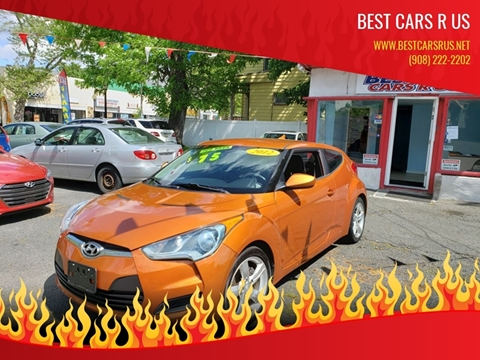 2012 Hyundai Veloster for sale at Best Cars R Us in Plainfield NJ