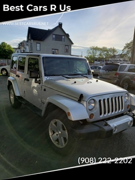 2010 Jeep Wrangler Unlimited for sale at Best Cars R Us in Plainfield NJ