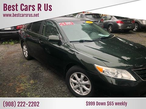 2011 Toyota Camry LE for sale at Best Cars R Us in Plainfield NJ