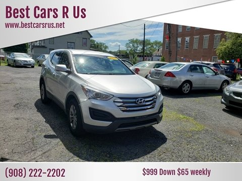 2013 Hyundai Santa Fe Sport for sale at Best Cars R Us in Plainfield NJ