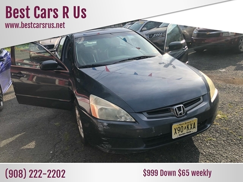 2003 Honda Accord for sale at Best Cars R Us in Plainfield NJ