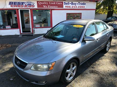 2007 Hyundai Sonata SE for sale at Best Cars R Us in Plainfield NJ