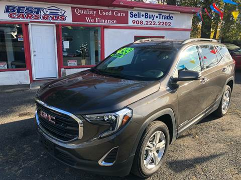 2019 GMC Terrain for sale at Best Cars R Us in Plainfield NJ