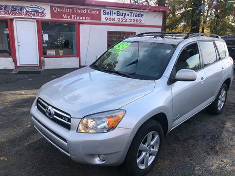 2007 Toyota RAV4 for sale at Best Cars R Us in Plainfield NJ