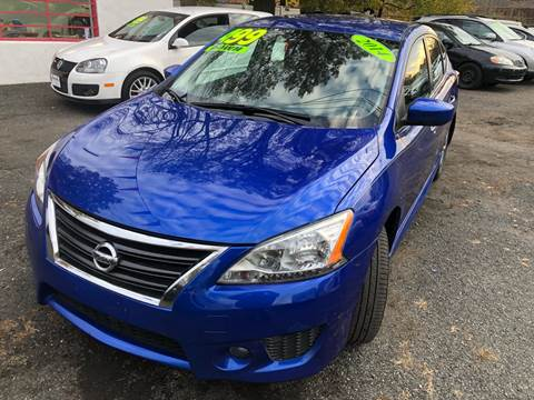2014 Nissan Sentra for sale at Best Cars R Us in Plainfield NJ