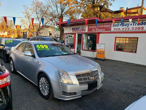 2010 Cadillac CTS 3.0L V6 Luxury for sale at Best Cars R Us in Plainfield NJ