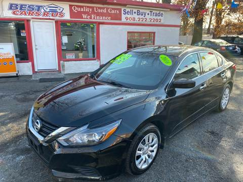 2016 Nissan Altima for sale at Best Cars R Us in Plainfield NJ