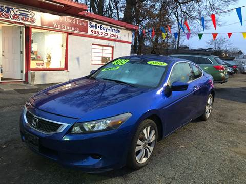 2010 Honda Accord LX-S for sale at Best Cars R Us in Plainfield NJ