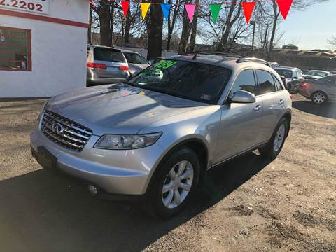 2004 Infiniti FX35 for sale at Best Cars R Us in Plainfield NJ