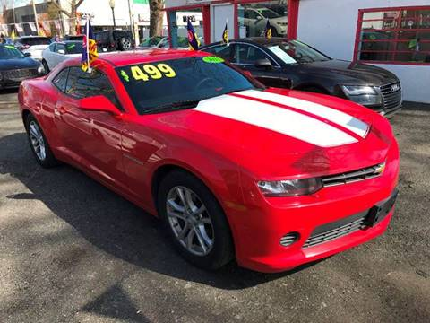 2015 Chevrolet Camaro for sale at Best Cars R Us in Plainfield NJ