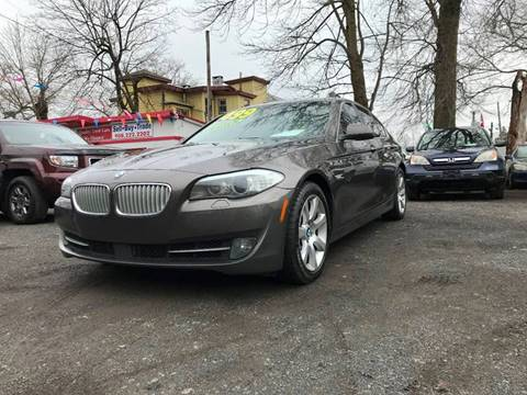 2013 BMW 5 Series 550i xDrive for sale at Best Cars R Us in Plainfield NJ