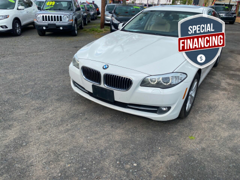 2013 BMW 5 Series for sale at Best Cars R Us in Plainfield NJ