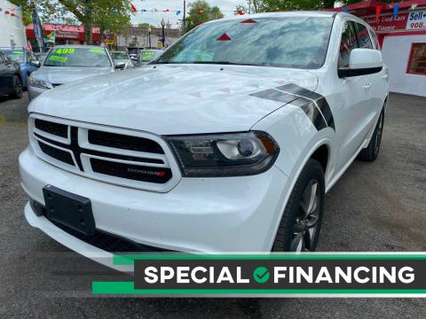 2015 Dodge Durango for sale at Best Cars R Us in Plainfield NJ